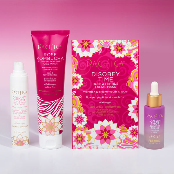 Rose Age Defying Skincare Bundle - Bundles - Pacifica Beauty