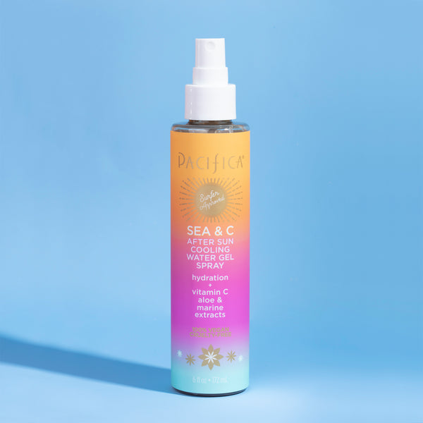Sea & C After Sun Cooling Water Gel Spray - Suncare - Pacifica Beauty