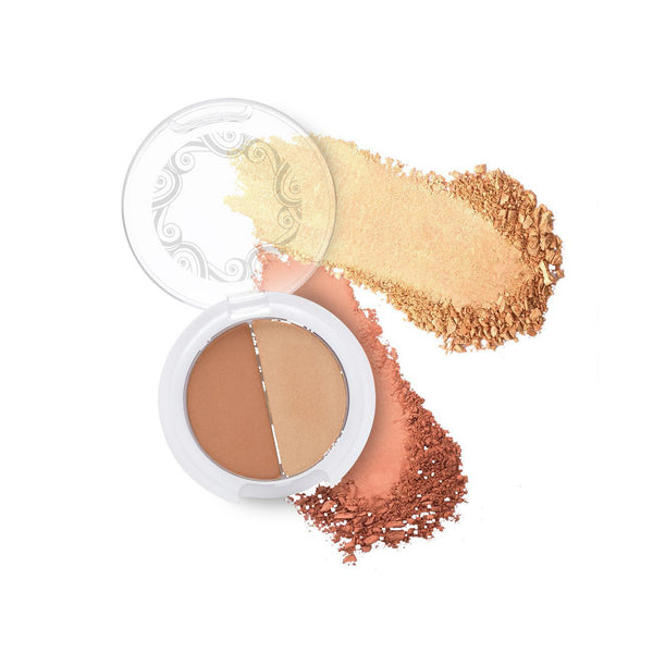Sundreams Lotus Infused Bronzer Duo-Makeup-Pacifica Beauty