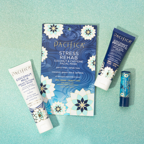 Coconut Rehab Set - - Pacifica Beauty
