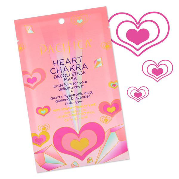 Heart Chakra Décolletage Mask-Bath & Body-Pacifica Beauty