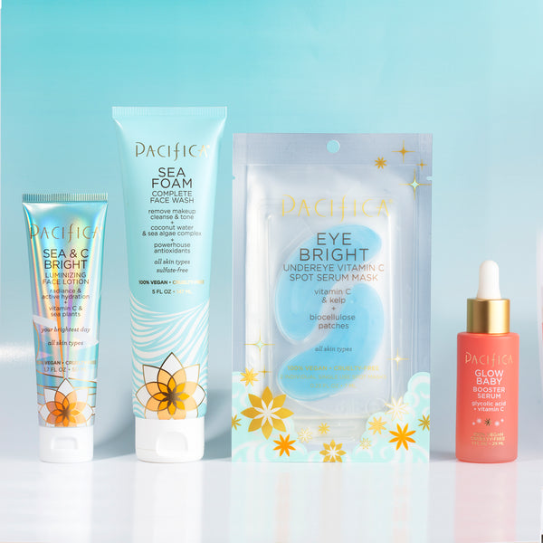 Glowing Bundle - - Pacifica Beauty