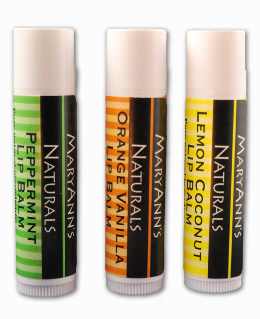 3-Pack of Assorted Lip Balm Flavors