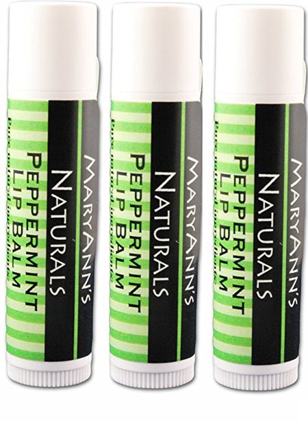 3-Pack of Peppermint Lip Balm