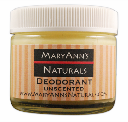 Unscented Deodorant = 2 oz