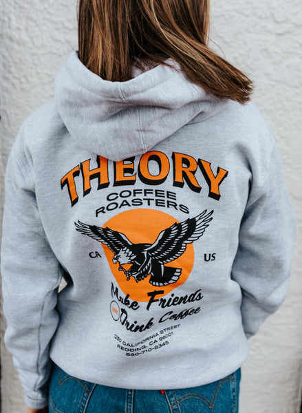 Heather Gray Eagle Hoodie