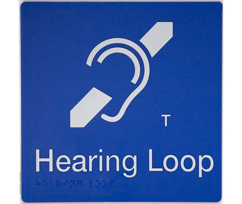 HEARING LOOP  Stainless Steel