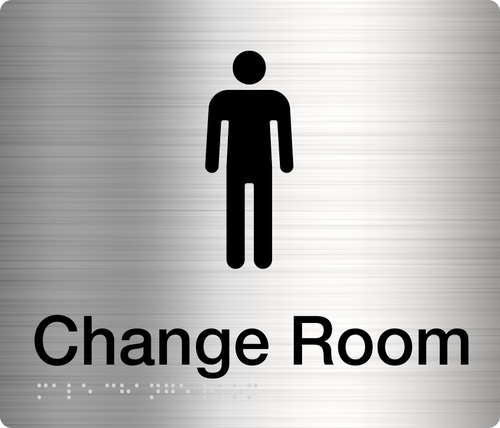Male Change Room  Stainless Steel