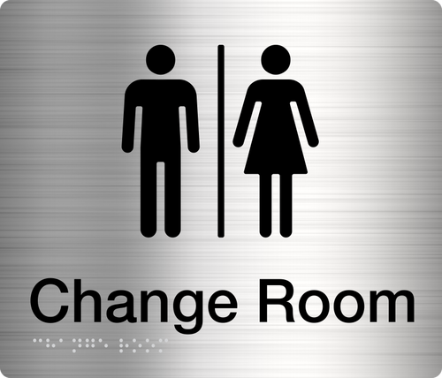 Male Female Change Room  Stainless Steel