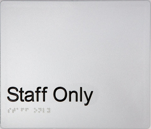 STAFF ONLY  Stainless Steel