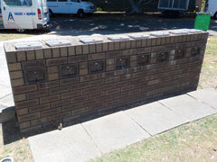 Multibank Letterbox Refurbishment