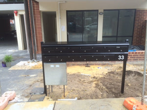 Rear-opening + Post-mounted-Aussie Clotheslines & Letterboxes