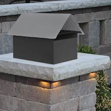 Budget Peak Top Letterbox with Post