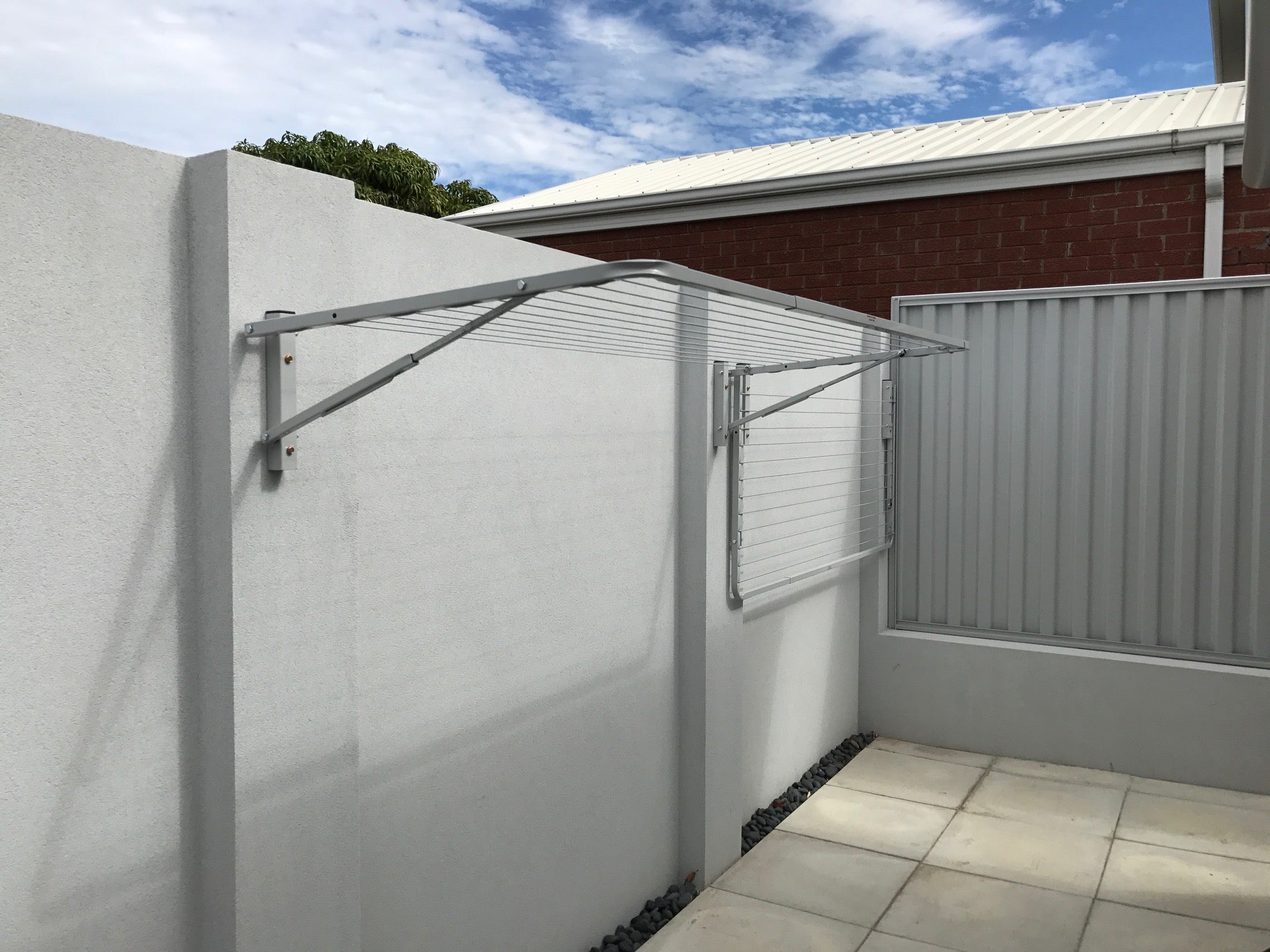 City Living Mainline 2400 x 750-Aussie Clotheslines & Letterboxes