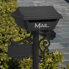 Gumleaf Letterbox with Post