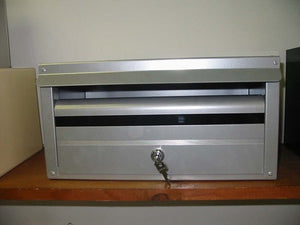 Strata Single Letterbox - Front Opening-Aussie Clotheslines & Letterboxes