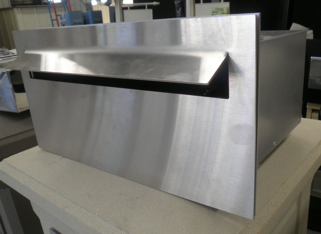 Superior Letterbox with Stainless Steel Faceplate