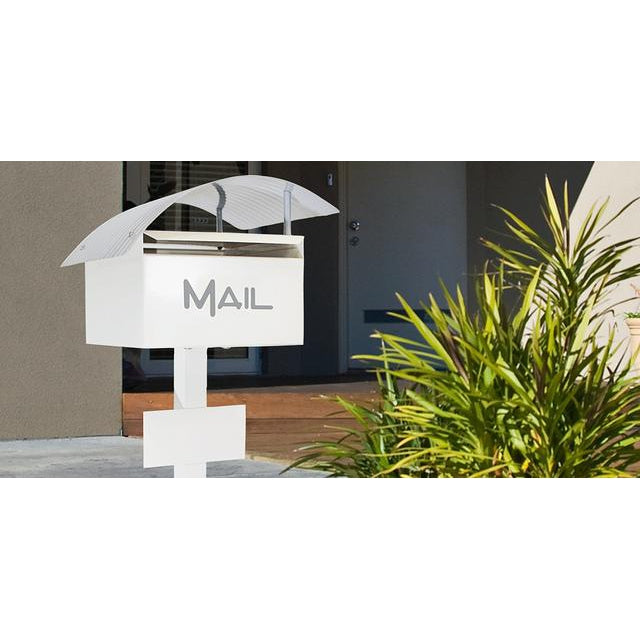 Wave Deluxe Letterbox with Post-Aussie Clotheslines & Letterboxes