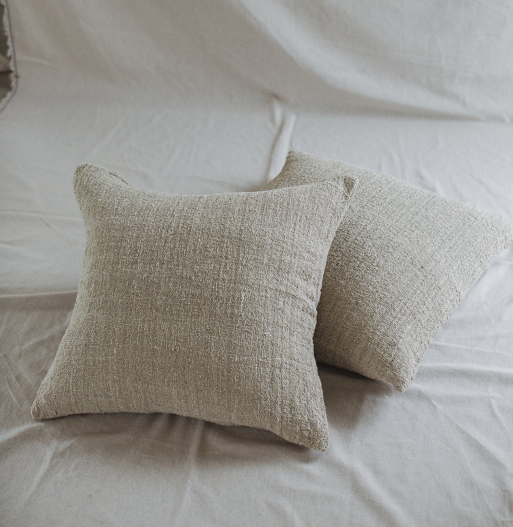 Grey Cotton Cushion