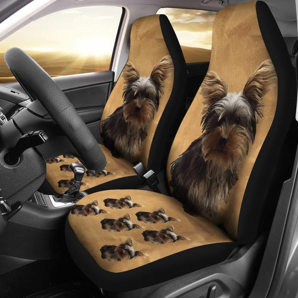 Yorkie Car Seat Covers