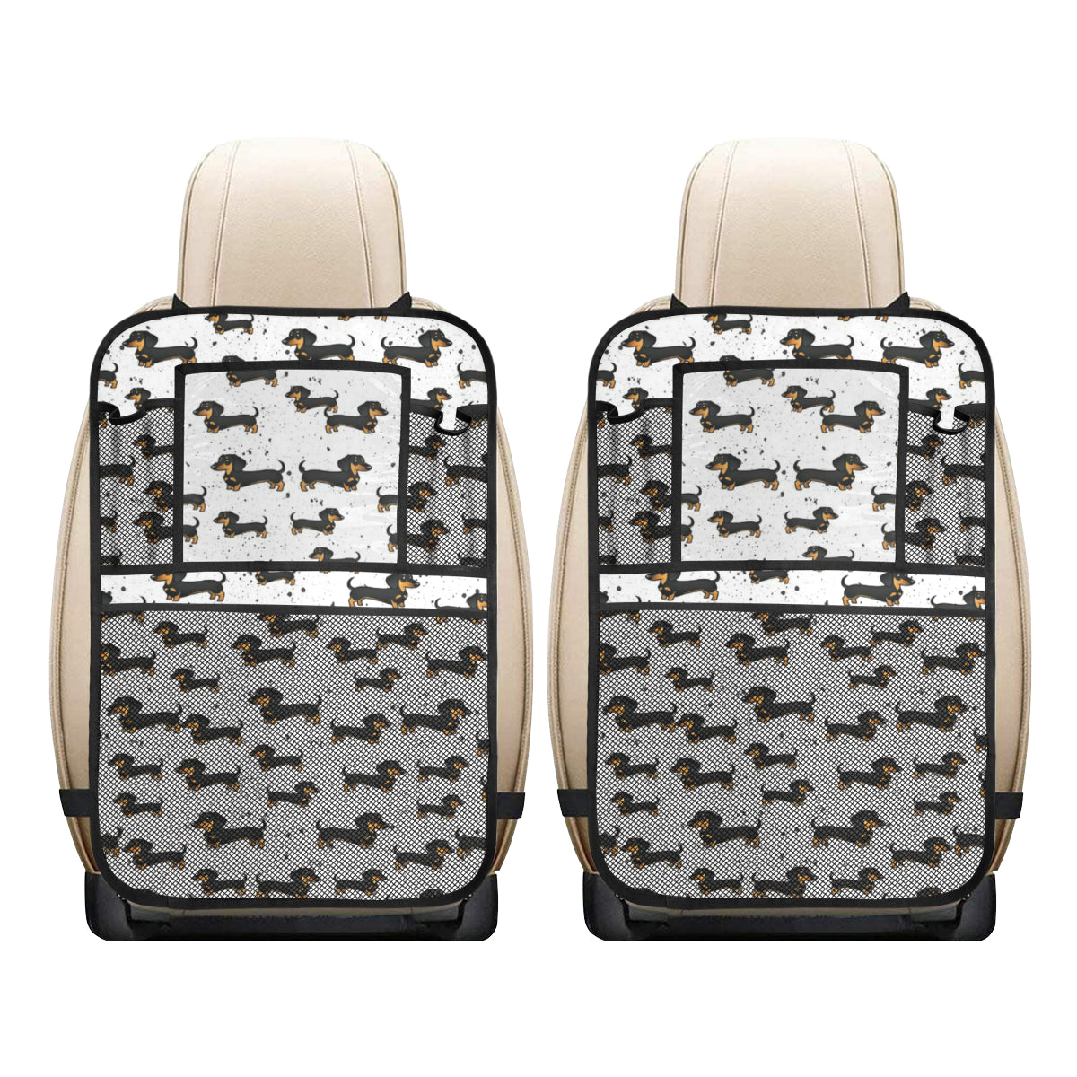 Dachshund Car Seat Back Organizer - (2 Pack)