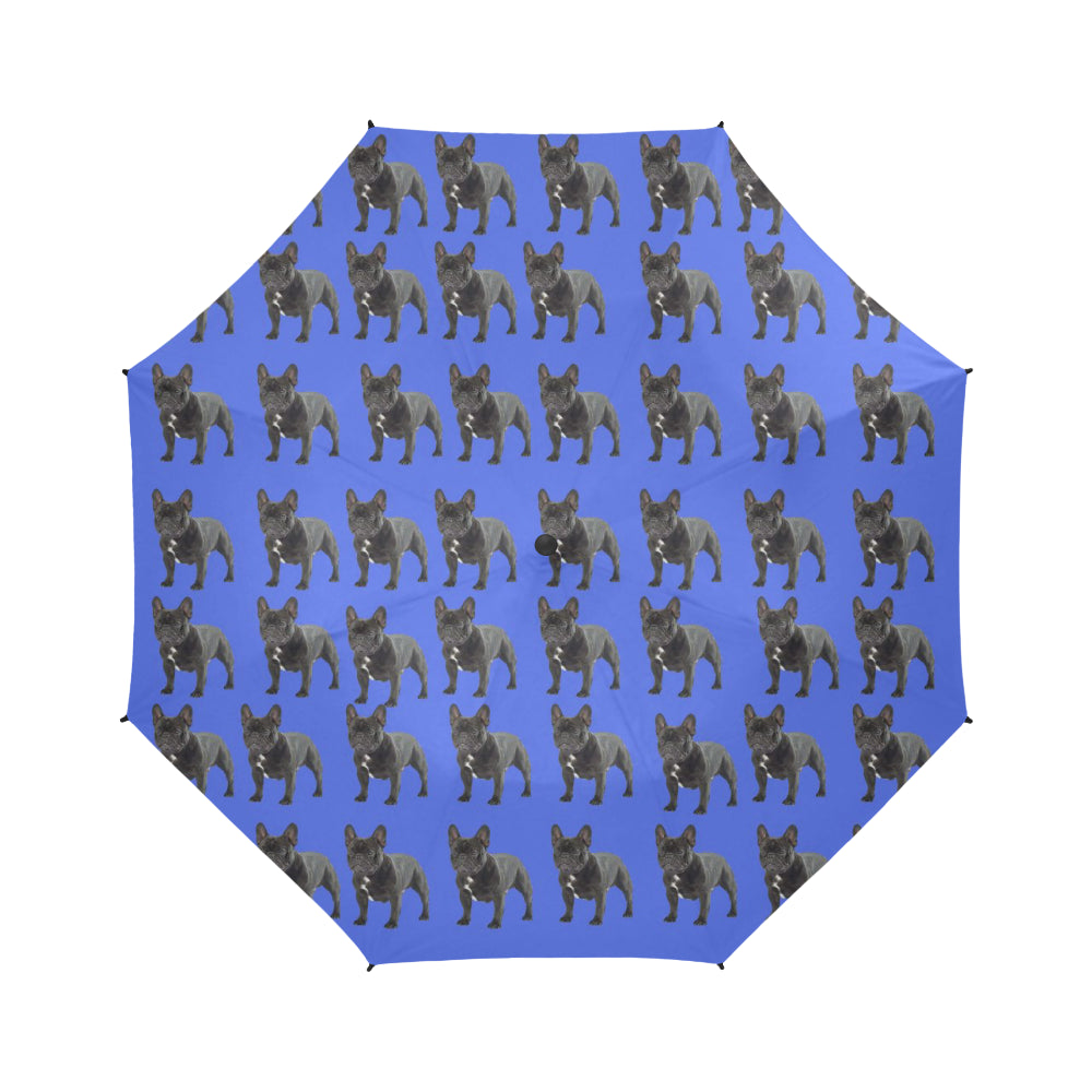 French Bulldog Umbrella - Blue