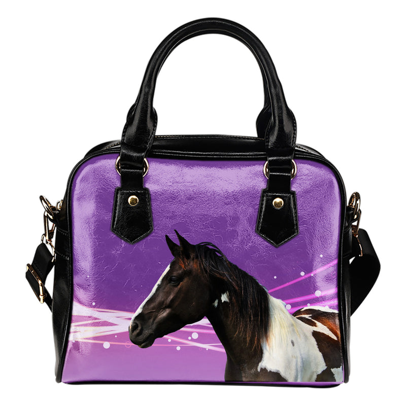 Pinto Horse Shoulder Bag
