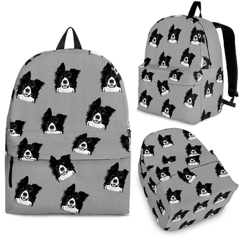 Border Collie Backpack