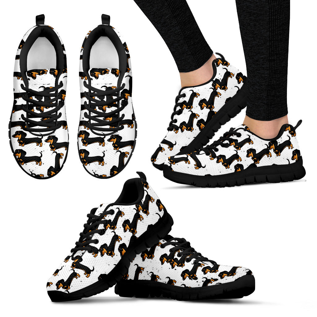 Dachshund Sneakers - Women's & Kid's