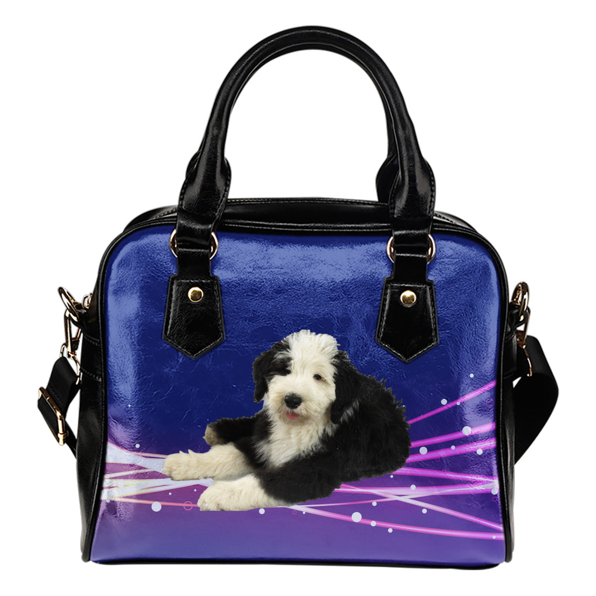 Old English Sheepdog Shoulder Bag