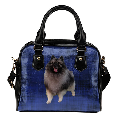 Keeshond Shoulder Bag