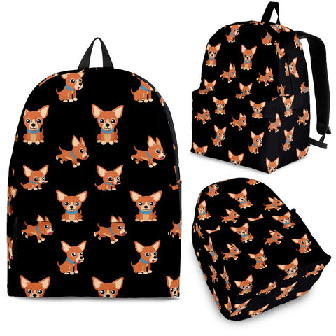 Cartoon Chihuahua Backpack