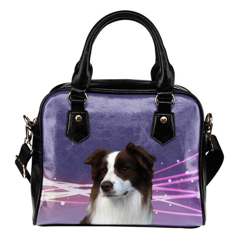 Border Collie Shoulder Bag 1