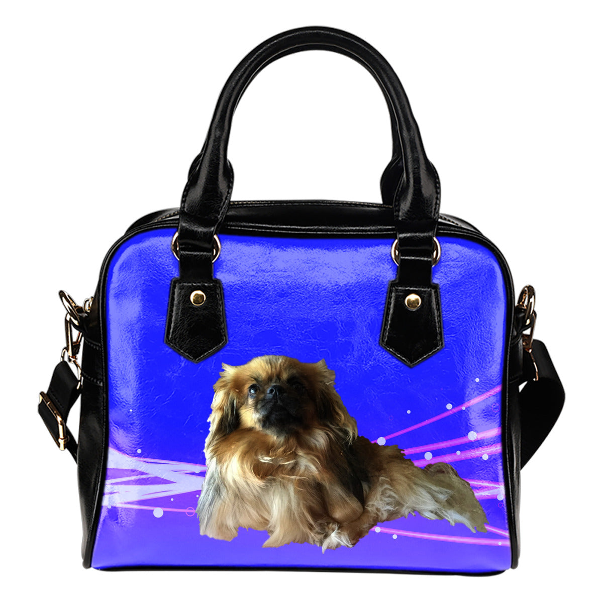 Tibetan Spaniel Shoulder Bag