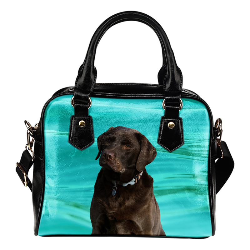 Chocolate Lab Shoulder Bag
