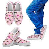 Pugs & Hearts Canvas Shoes