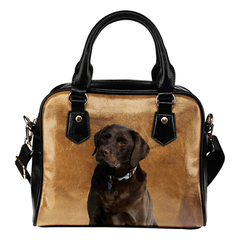 Chocolate Labrador Shoulder Bag