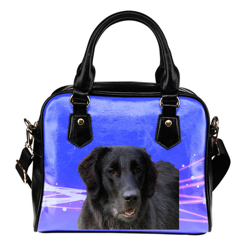 Flat Coated Retriever Shoulder Bag