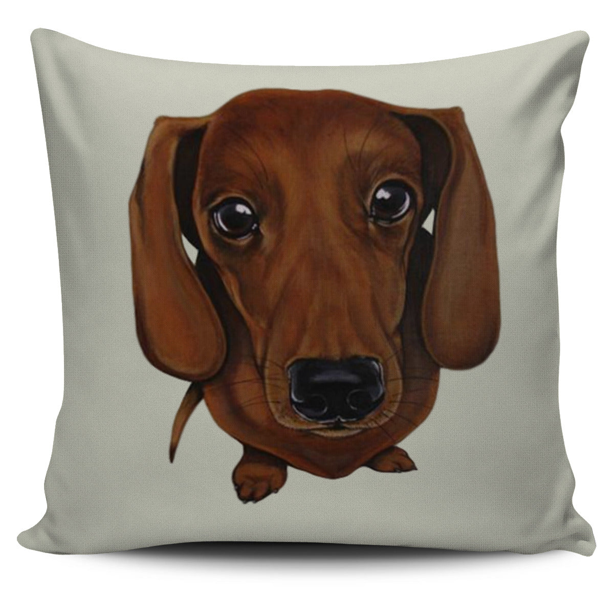 Dachshund Pillow Cover