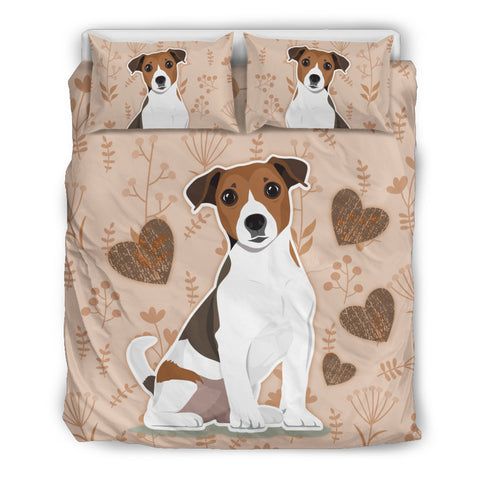 Jack Russell Bedding Set - Hearts