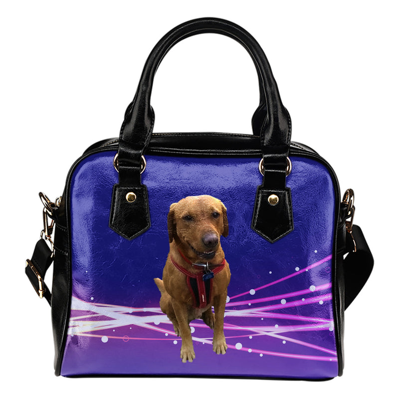 Red Fox Labrador Shoulder Bag