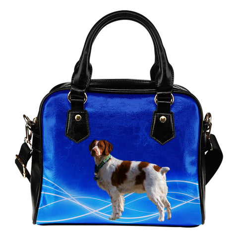 Brittany Spaniel Shoulder Bag