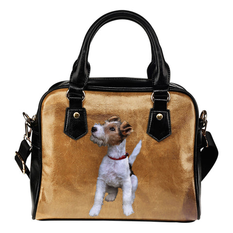 Wire Hair Fox Terrier Shoulder Bag
