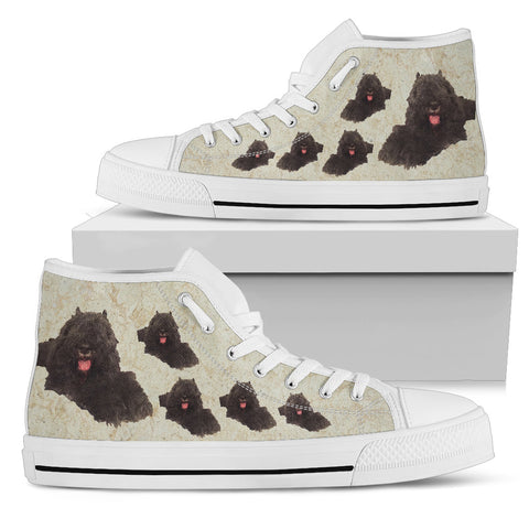 Bouvier Des Flanders Canvas Shoe