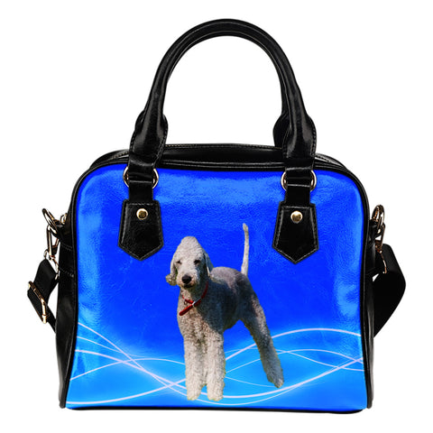 Bedlington Terrier Shoulder Bag