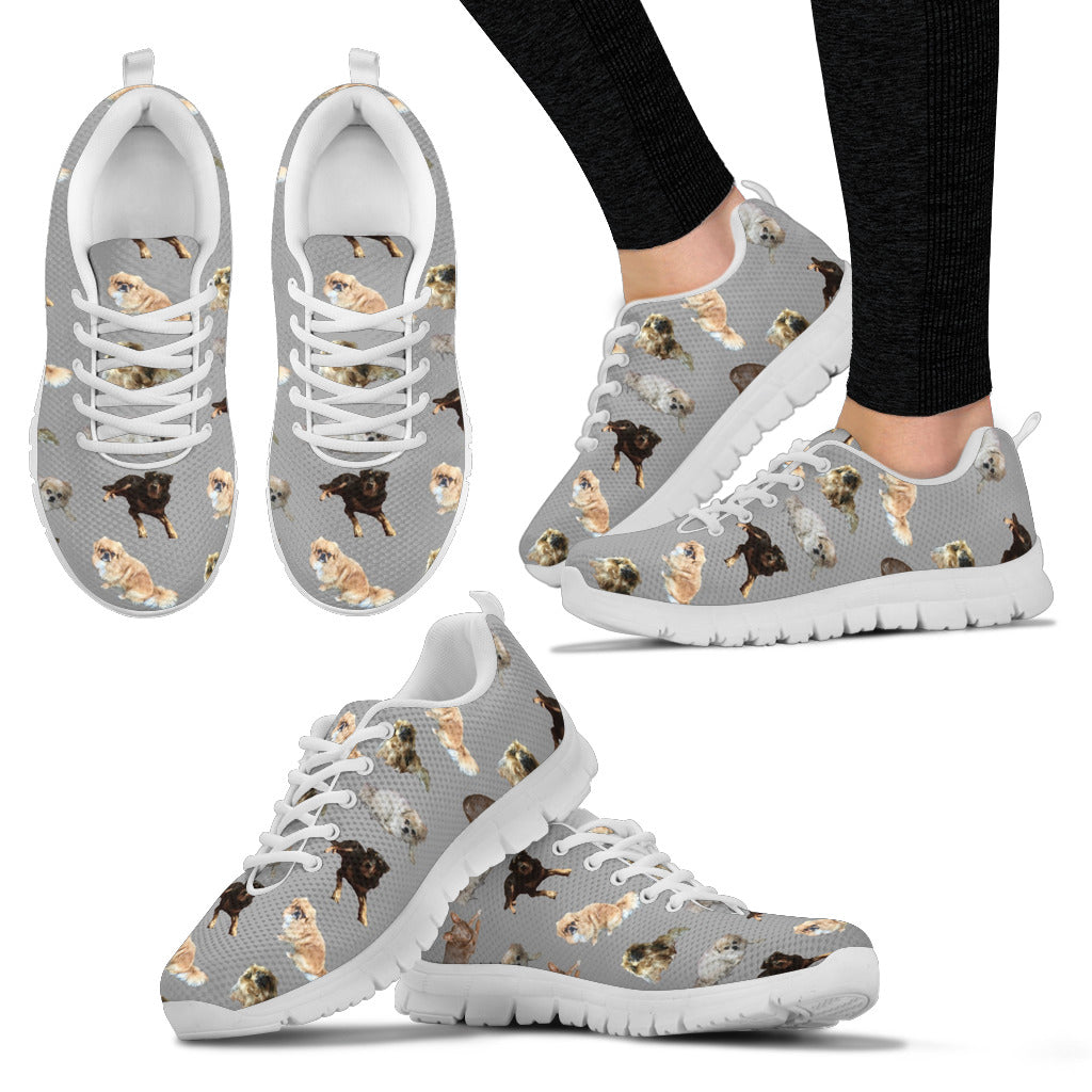 Tibetan Spaniel & Friends Sneakers