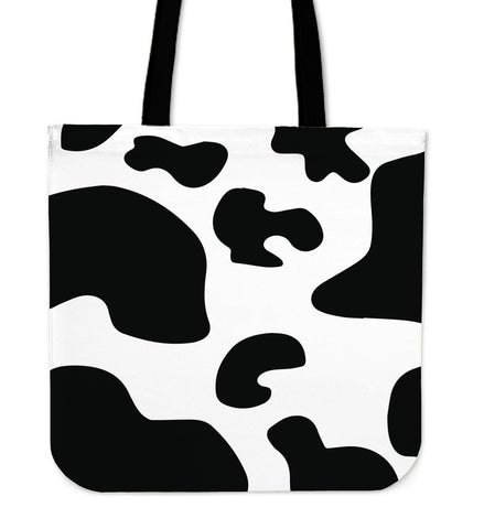 Cow Print Tote Bag