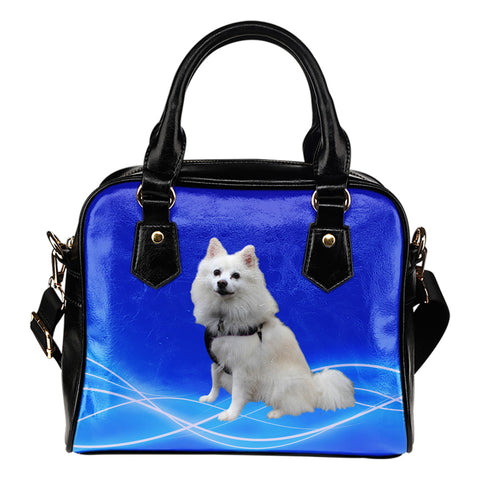 American Eskimo Shoulder Bag
