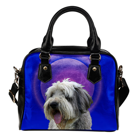 Bearded Collie Shoulder Bag