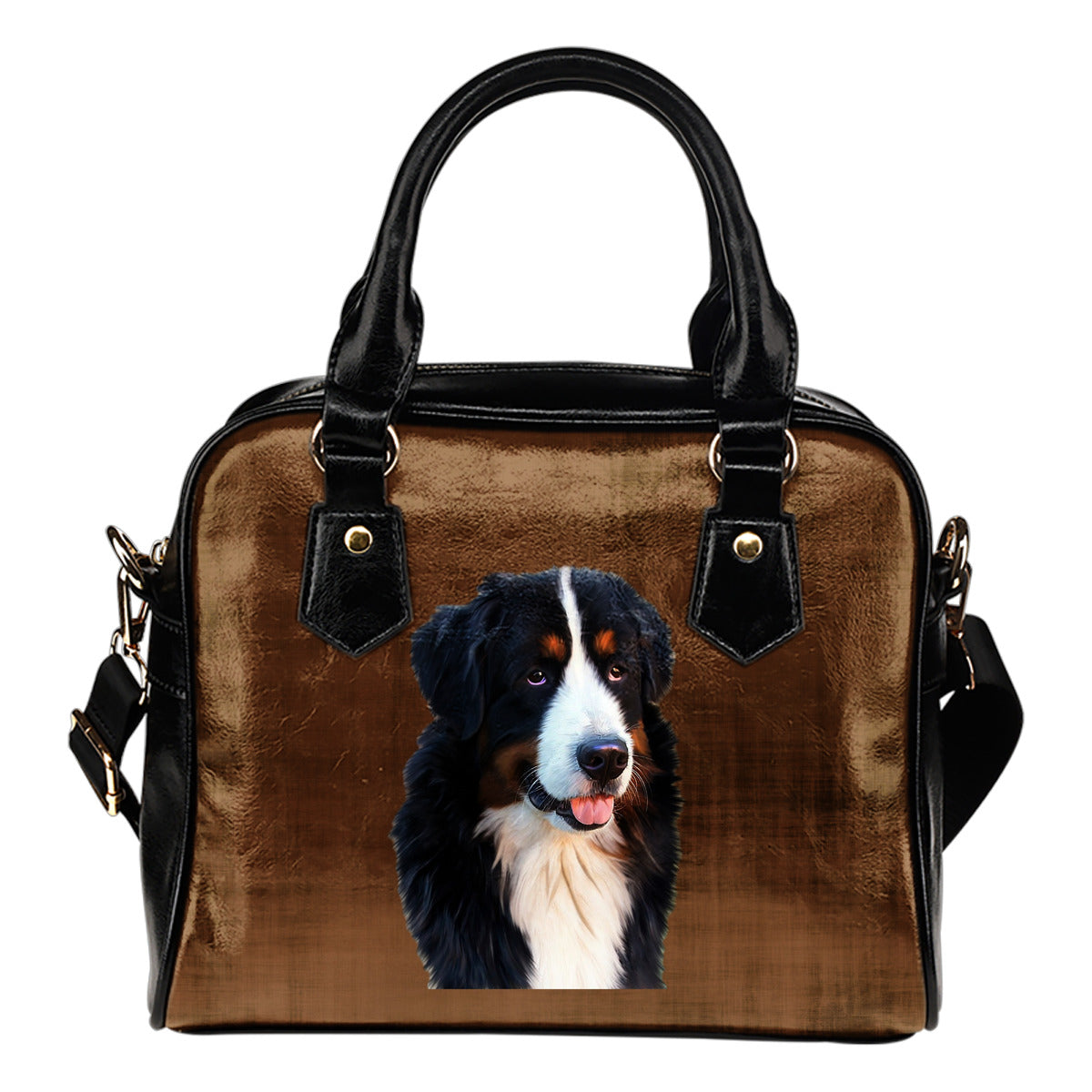 Bernese Mountain Dog Shoulder Bag